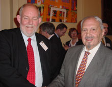 Charles Clarke MP and Naim Dangoor