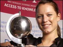 Martina Rieder, Shell Step winner